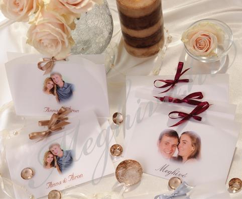 Fényképes esküvői meghívó